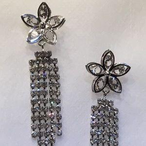 Jewelry - Flower Chandelier Earrings